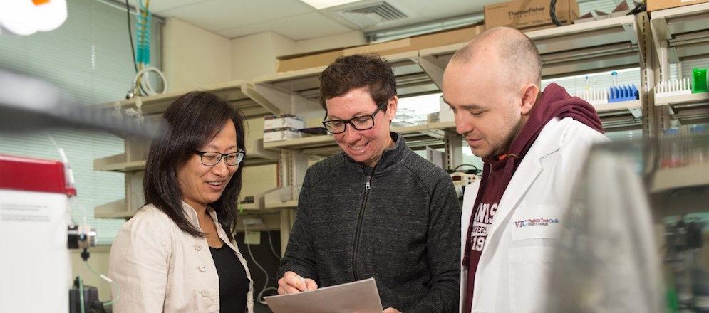Virginia Tech Carilion Research Institute scientists decode breast cancer protein